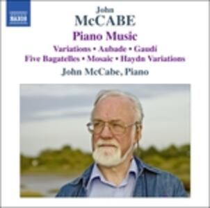 Opere per pianoforte - CD Audio di John McCabe