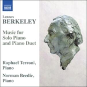 Musica per pianoforte e pianoforte a quattro mani - CD Audio di Lennox Berkeley