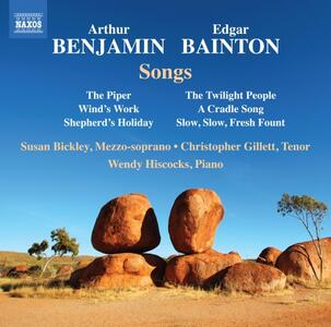 Songs - CD Audio di Susan Bickley,Arthur Benjamin
