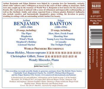 Songs - CD Audio di Susan Bickley,Arthur Benjamin - 2