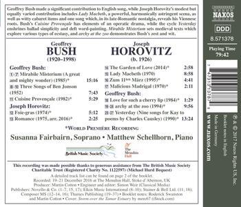 Songs - CD Audio di Joseph Horovitz - 2