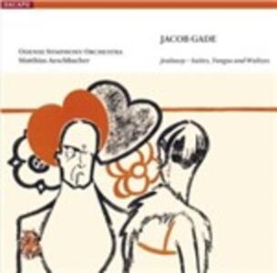 Jealousy - Suites, Tangos and Waltzes - SuperAudio CD ibrido di Jacob Gade