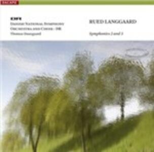Sinfonie Nn.2 e 3 - SuperAudio CD ibrido di Thomas Dausgaard,Rued Langgaard
