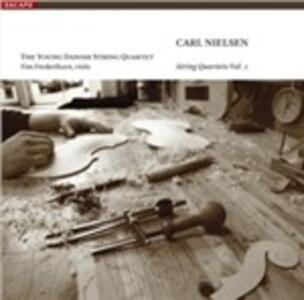 Quartetti per archi vol.1 - SuperAudio CD ibrido di Carl August Nielsen,Young Danish String Quartet