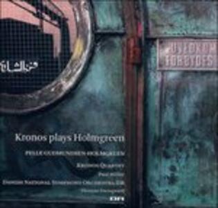 Concerto Grosso - Kronos Plays Holmgreen - SuperAudio CD ibrido di Pelle Gudmundsen-Holmgreen,Thomas Dausgaard