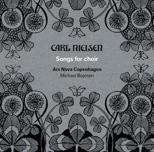 Liriche per Coro - CD Audio di Carl August Nielsen