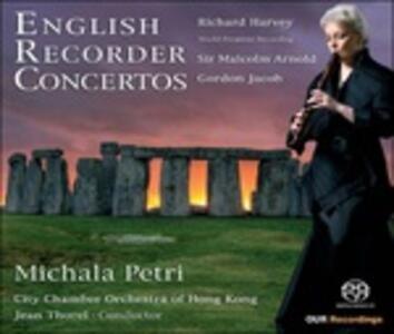 English Recorder Concertos - SuperAudio CD ibrido di Michala Petri
