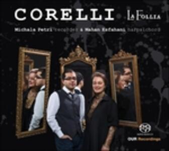 6 Sonate per flauto op.5 - SuperAudio CD ibrido di Arcangelo Corelli,Michala Petri
