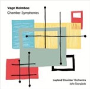 Chamber Symphonies - SuperAudio CD di Vagn Holmboe