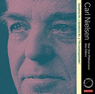 Sinfonie N.1, N.4 - SuperAudio CD ibrido di Carl August Nielsen