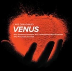 Venus. Book of Throws, Layers of Earth - SuperAudio CD di Lars Graugaard