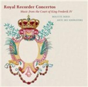 Royal Recorder Concertos. Musica alla corte di Federico IV - SuperAudio CD ibrido