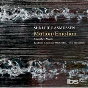Motion-emotion - Musica da Camera - SuperAudio CD di Sunleif Rasmussen