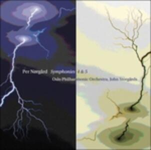 Sinfonie n.4, n.5 - SuperAudio CD ibrido di Per Norgard