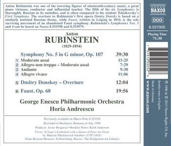 Musica orchestrale - CD Audio di Anton Rubinstein - 2