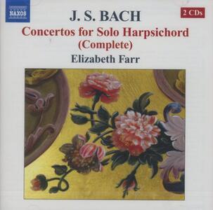 Concerti per clavicembalo - CD Audio di Johann Sebastian Bach,Elisabeth Farr