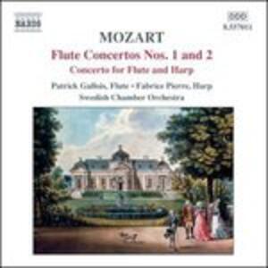 Concerti per flauto K313, K314 - Concerto per flauto e arpa K299 - CD Audio di Wolfgang Amadeus Mozart,Patrick Gallois