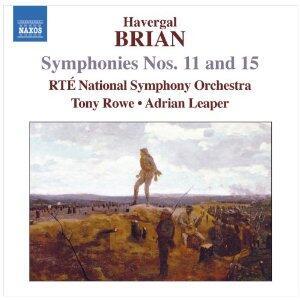Sinfonie n.11, n.15 - CD Audio di Adrian Leaper,Havergal Brian