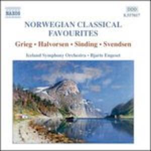 Norwegian Classical Favourites - CD Audio