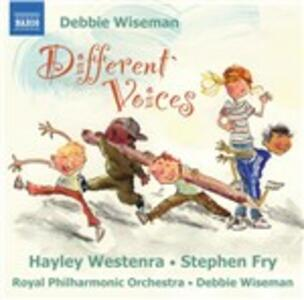 Different Voices - CD Audio di Royal Philharmonic Orchestra,Hayley Westenra,Debbie Wiseman