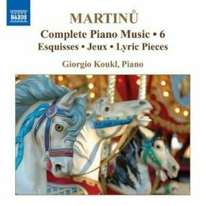 Opere per pianoforte vol.6 - CD Audio di Bohuslav Martinu