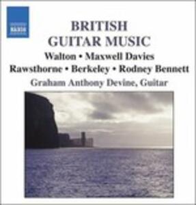 British Guitar Music - CD Audio