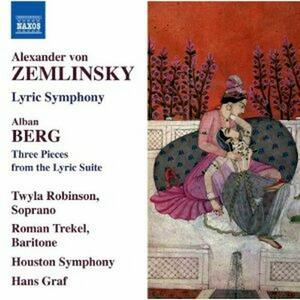 Sinfonia lirica op.18 / 3 Pezzi da Suite lirica - CD Audio di Alban Berg,Alexander Von Zemlinsky,Hans Graf