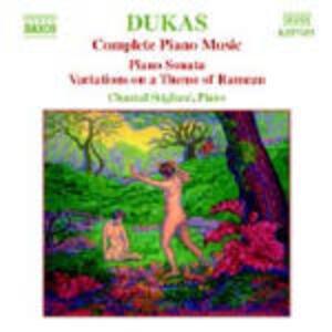 Opere per pianoforte complete - CD Audio di Paul Dukas