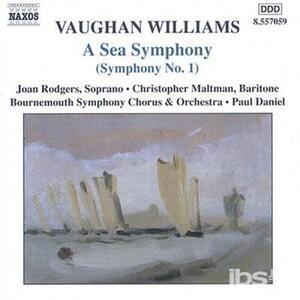 Sinfonia n.1 - CD Audio di Ralph Vaughan Williams