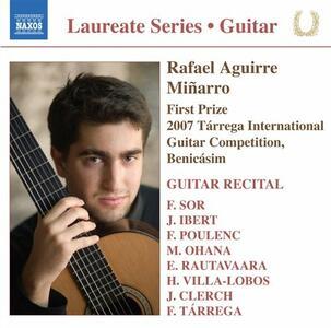 Guitar Recital - CD Audio di Rafael Aguirre Miñarro