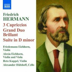 Capricci per 3 violini n.1, n.2, n.3 - Grand Duo Brillante - CD Audio di Friedrich Hermann