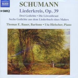 Lieder vol.7 - CD Audio di Robert Schumann