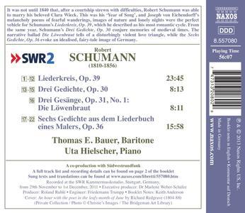 Lieder vol.7 - CD Audio di Robert Schumann - 2