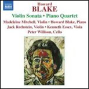 Sonata per violino op.586 - Penillion - Quartetto con pianoforte - CD Audio di Howard Blake