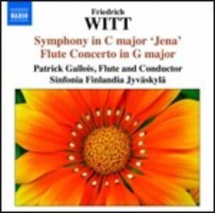 Sinfonie in Do e in La - Concerto per flauto - CD Audio di Patrick Gallois,Sinfonia Finlandia,Friedrich Witt