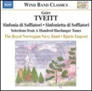 Musica per orchestra di fiati - CD Audio di Geirr Tveitt