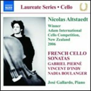 Sonate per violoncello e pianoforte - CD Audio di Vincent D'Indy,Nadia Boulanger,Gabriel Pierné
