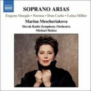Arie per soprano - CD Audio