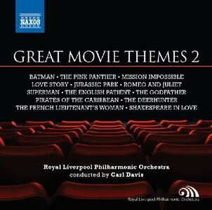 Great Movie Themes 2 (Colonna Sonora) - CD Audio