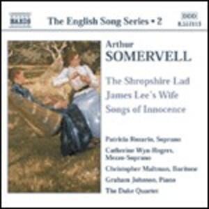 English Songs - CD Audio di Sir Arthur Somervell