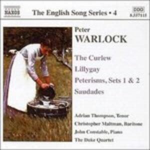 English Songs - CD Audio di Peter Warlock