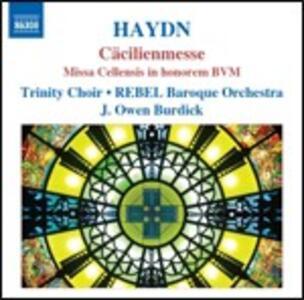 Cäcilienmesse - Missa Cellensis in Honorem - CD Audio di Franz Joseph Haydn