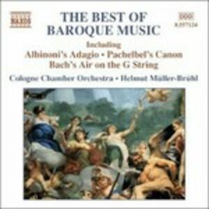 The Best of Baroque Music - CD Audio