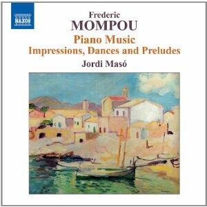 Opere per pianoforte vol.6 - CD Audio di Frederic Mompou,Jordi Maso