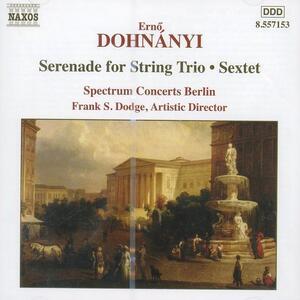 Serenata per archi - Sestetto op.37 - CD Audio di Erno Dohnanyi