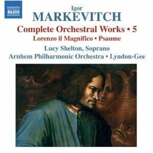 Musica per orchestra vol.5 - CD Audio di Igor Markevitch,Christopher Lyndon-Gee
