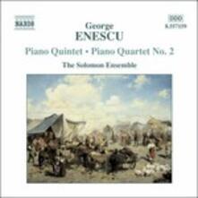 Quintetto con pianoforte - Quartetto con pianoforte n.2 - CD Audio di George Enescu