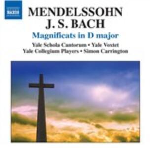 Magnificat - Ave Maria - Sinfonia per archi n.12 - CD Audio di Felix Mendelssohn-Bartholdy