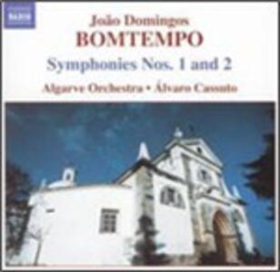 Sinfonie n.1, n.2 - CD Audio di Joao Domingos Bomtempo