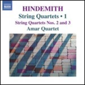 Quartetti per archi vol.1 - CD Audio di Paul Hindemith